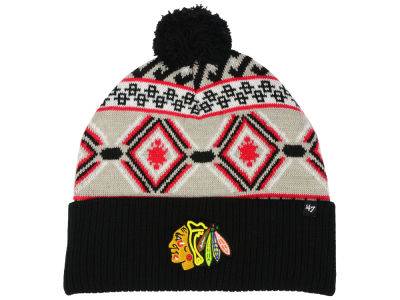 Chicago Blackhawks '47 NHL Navajo Cuff Knit