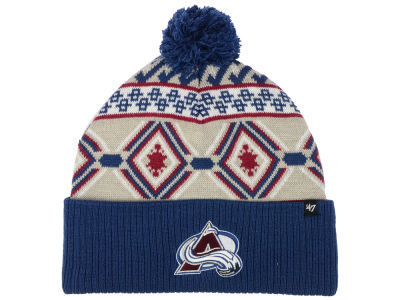 Colorado Avalanche '47 NHL Navajo Cuff Knit