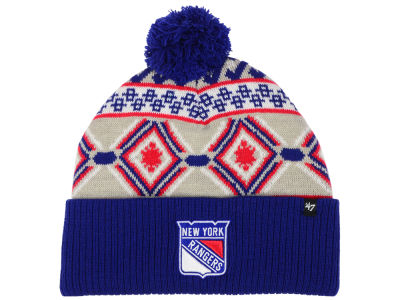 New York Rangers '47 NHL Navajo Cuff Knit