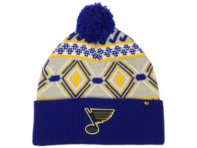 St. Louis Blues '47 NHL Navajo Cuff Knit
