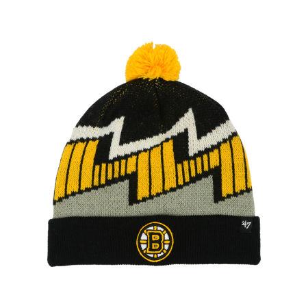 Boston Bruins '47 NHL Youth Landon Cuff Knit