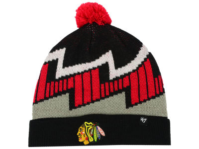 Chicago Blackhawks '47 NHL Youth Landon Cuff Knit