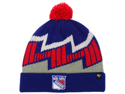 New York Rangers '47 NHL Youth Landon Cuff Knit