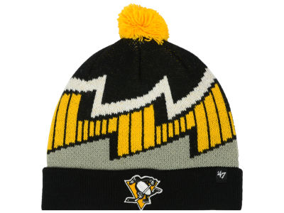 Pittsburgh Penguins '47 NHL Youth Landon Cuff Knit