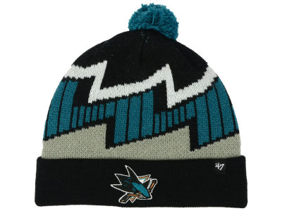 San Jose Sharks '47 NHL Youth Landon Cuff Knit