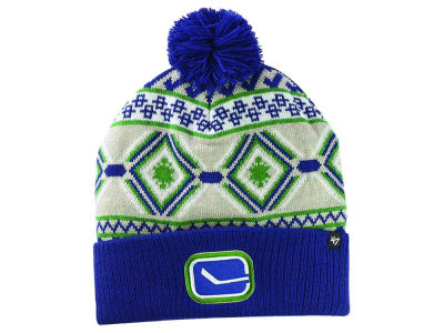 Vancouver Canucks '47 NHL Navajo Cuff Knit