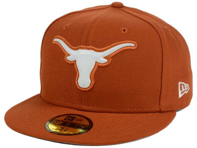 Texas Longhorns DCM NCAA Bevel Team Fitted 59FIFTY Cap