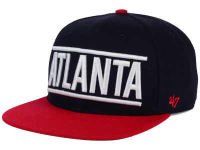 Atlanta Braves '47 MLB Merica City '47 CAPTAIN Cap