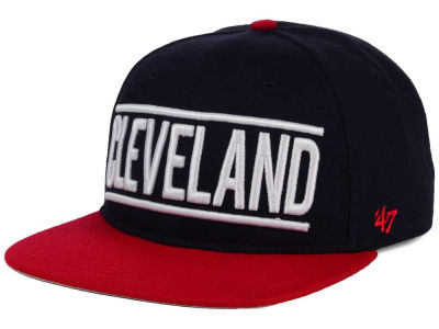 Cleveland Indians '47 MLB Merica City '47 CAPTAIN Cap