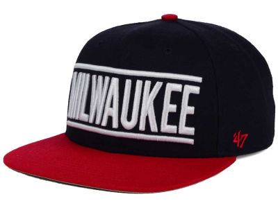 Milwaukee Brewers '47 MLB Merica City '47 CAPTAIN Cap