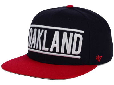 Oakland Athletics '47 MLB Merica City '47 CAPTAIN Cap