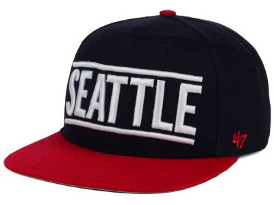 Seattle Mariners '47 MLB Merica City '47 CAPTAIN Cap
