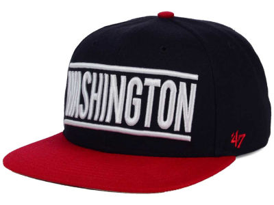 Washington Nationals '47 MLB Merica City '47 CAPTAIN Cap
