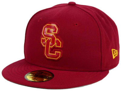 USC Trojans DCM NCAA Bevel Team Fitted 59FIFTY Cap