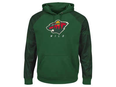 Minnesota Wild Majestic NHL Men's Penalty Shot Synthetic Hoodie