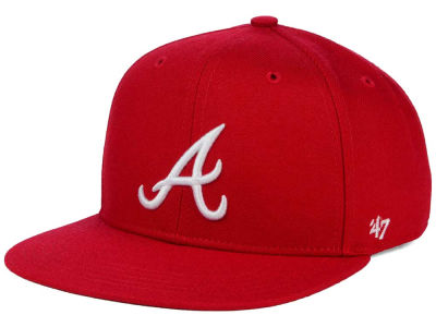 Atlanta Braves '47 MLB Youth '47 Basic Shot Snapback Cap