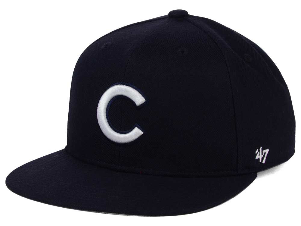 b4cfeb3b2e5 Chicago Cubs  47 MLB Youth  47 Basic Shot Snapback Cap