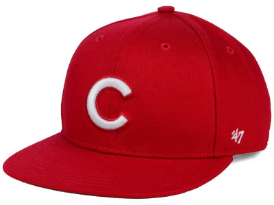 Chicago Cubs '47 MLB Youth '47 Basic Shot Snapback Cap