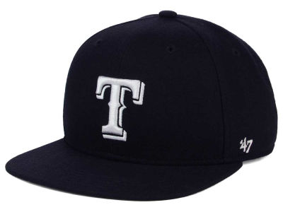 Texas Rangers '47 MLB Youth '47 Basic Shot Snapback Cap
