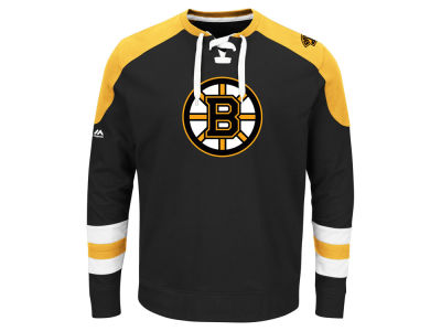 Boston Bruins Majestic NHL Centre Long Sleeve Jersey Top
