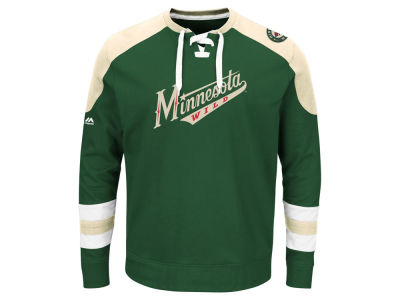 Minnesota Wild Majestic NHL Centre Long Sleeve Jersey Top