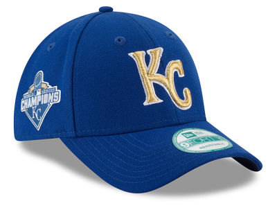 Kansas City Royals New Era MLB 2015 World Series Commemorative Gold 9FORTY Cap