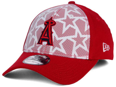 Los Angeles Angels New Era 2016 MLB AC Stars & Stripes 39THIRTY Cap