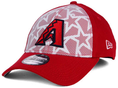 Arizona Diamondbacks New Era 2016 MLB AC Stars & Stripes 39THIRTY Cap