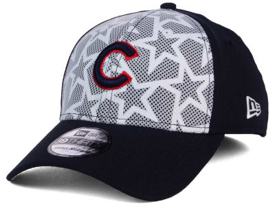Chicago Cubs New Era 2016 MLB AC Stars & Stripes 39THIRTY Cap