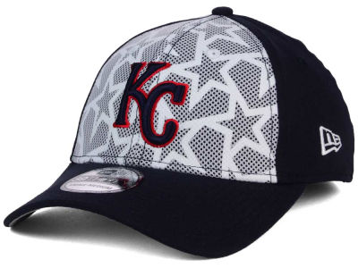 Kansas City Royals New Era 2016 MLB AC Stars & Stripes 39THIRTY Cap