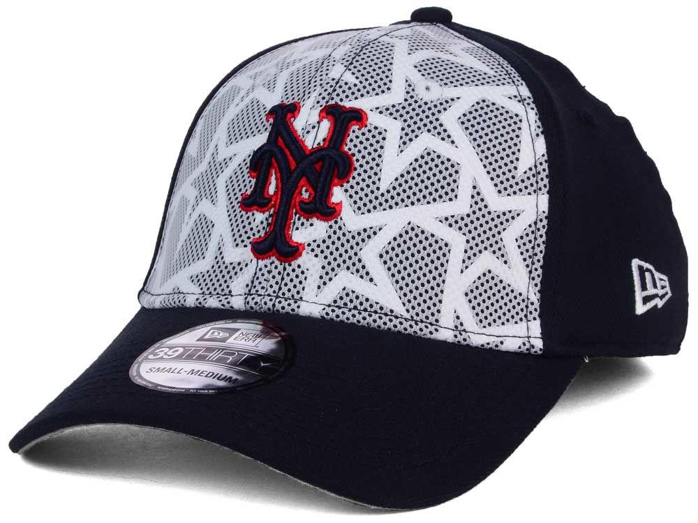 New York Mets New Era 2016 MLB AC Stars   Stripes 39THIRTY Cap ... 65b391f4c75