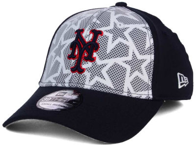 New York Mets New Era 2016 MLB AC Stars & Stripes 39THIRTY Cap