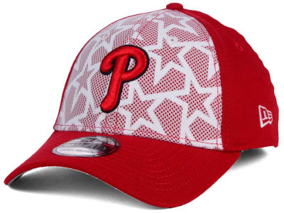 Philadelphia Phillies New Era 2016 MLB AC Stars & Stripes 39THIRTY Cap