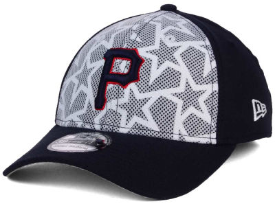 Pittsburgh Pirates New Era 2016 MLB AC Stars & Stripes 39THIRTY Cap