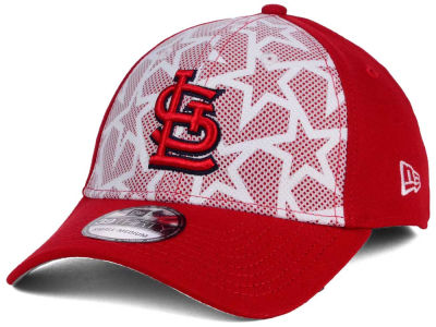 St. Louis Cardinals New Era 2016 MLB AC Stars & Stripes 39THIRTY Cap