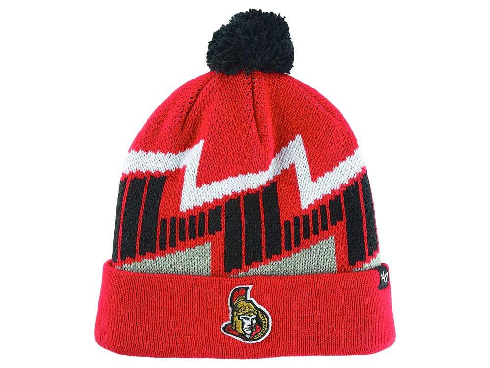 online store e02ce 08954 ... closeout ottawa senators 47 nhl youth landon cuff knit 86e20 83888