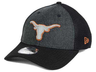 Texas Longhorns New Era NCAA Heathered Neo 39THIRTY Cap