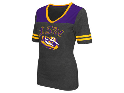 LSU Tigers Colosseum NCAA Women's Twist V-Neck T-Shirt
