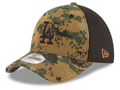 Los Angeles Dodgers New Era MLB 2016 Memorial Day 39THIRTY Cap