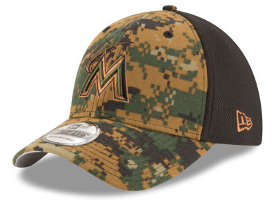 Miami Marlins New Era MLB 2016 Memorial Day 39THIRTY Cap