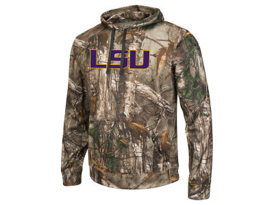 LSU Tigers Colosseum NCAA Men's Realtree Breech Pullover Hoodie
