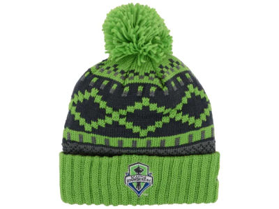 Seattle Sounders FC adidas MLS Pattern Pom Knit