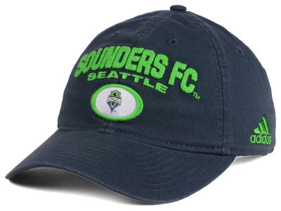 Seattle Sounders FC adidas MLS OT Gamer Slouch Cap
