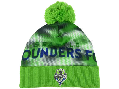 Seattle Sounders FC adidas MLS Rowdy Pom Knit