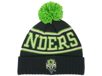 Seattle Sounders FC adidas MLS Word Up Pom Knit