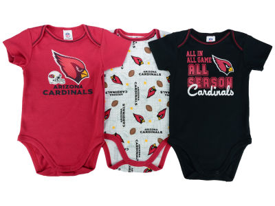 Arizona Cardinals NFL Newborn 3 Piece Creeper Set