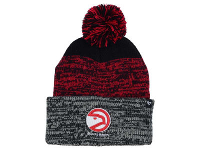 Atlanta Hawks '47 NBA Black Static Pom Knit