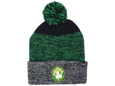 Boston Celtics '47 NBA Black Static Pom Knit