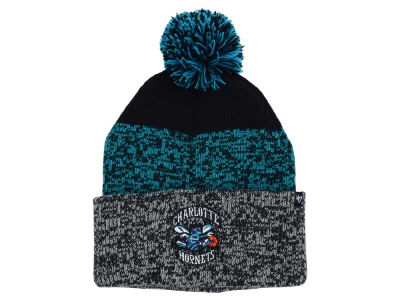 Charlotte Hornets '47 NBA Black Static Pom Knit