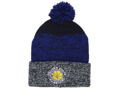 Golden State Warriors '47 NBA Black Static Pom Knit